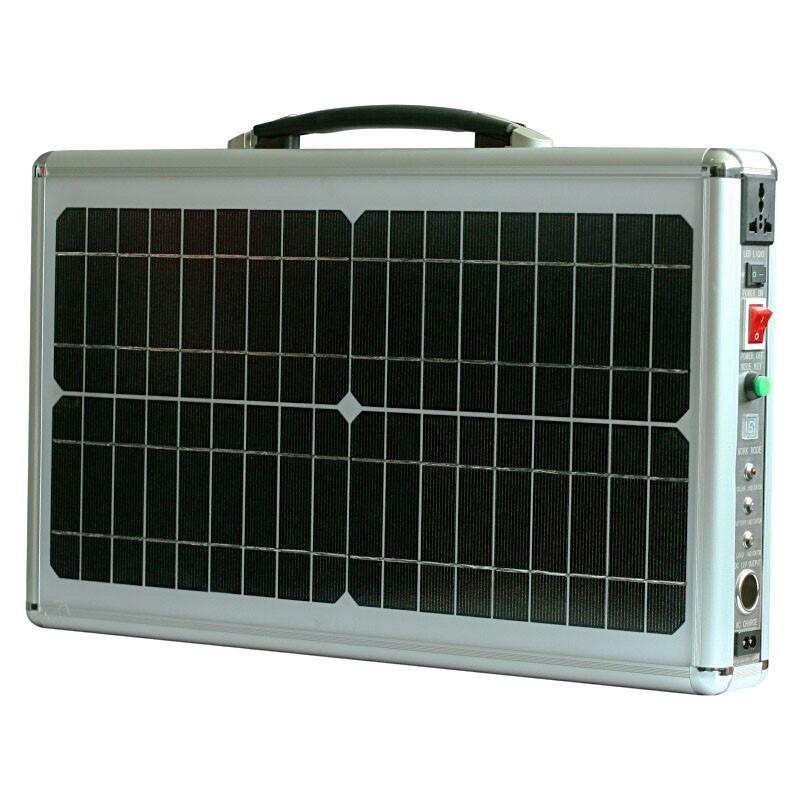 draagbare stroom generator 12V / 220V - 20W