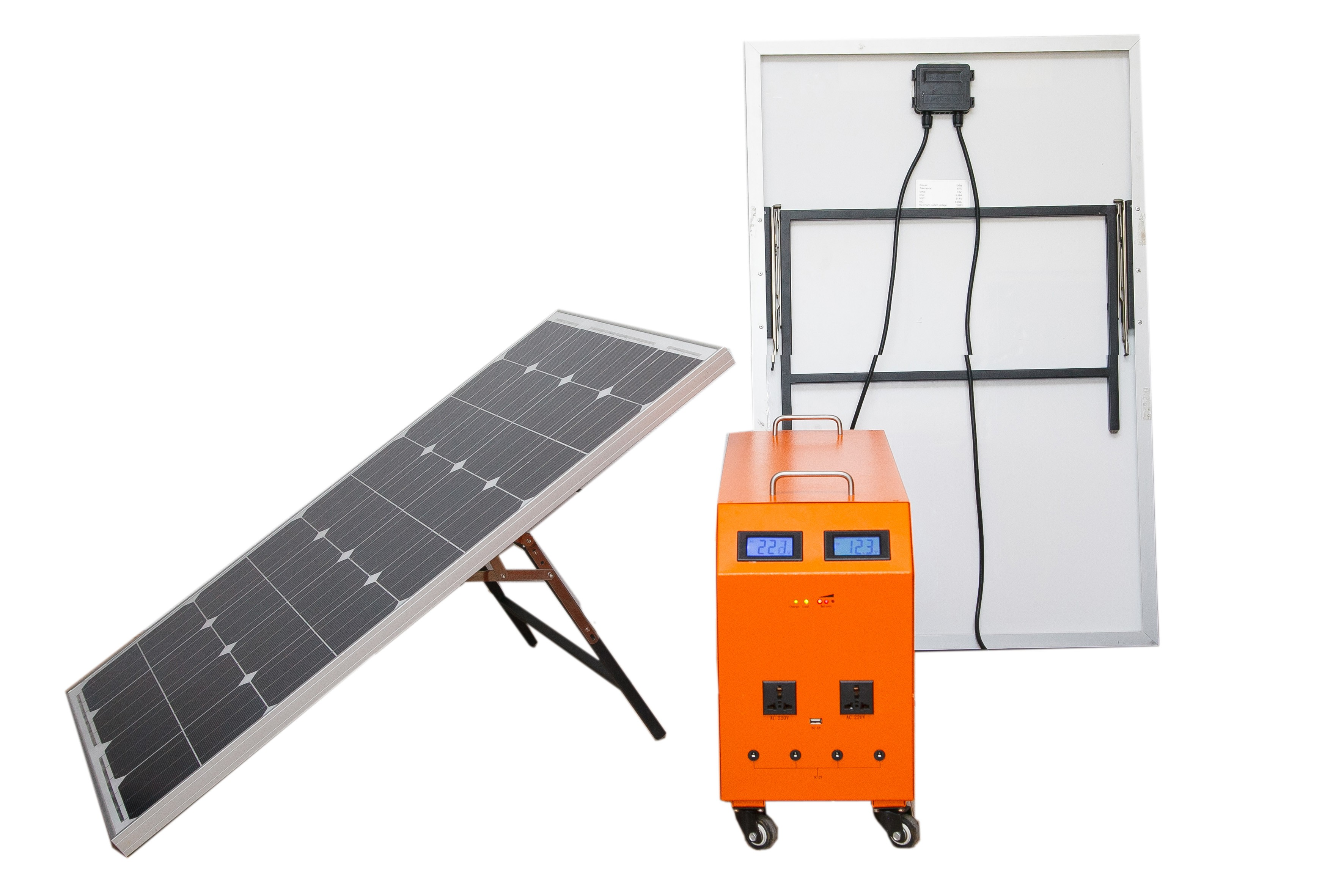 aggregaat op zonne energie 220 volt
