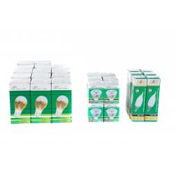 LED bespaar box 3 - assorti led lampen - 32 stuks