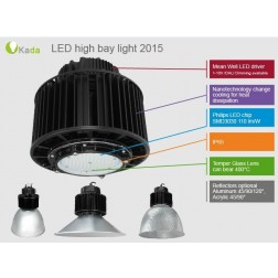 LED industrie lamp met Philips en Samsung led componenten